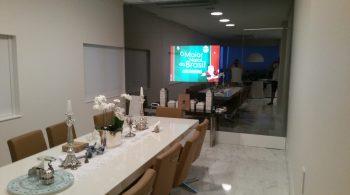 Tv Espelho Sala de Jantar