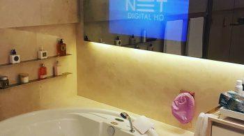 It Magic Mirror TV para Banheiro.